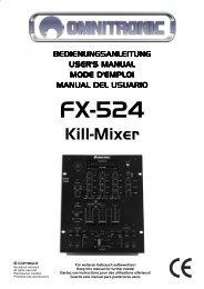 FX-524 Kill-Mixer