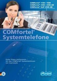 Auerswald Systemtelefone COMfortel 1100 - TK-Anlagen Dresden