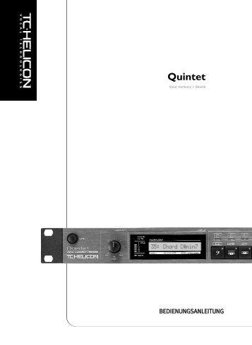 Quintet - TC-Helicon