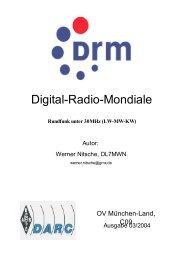 Digital-Radio-Mondiale - DL7MWN