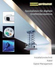 Spezialisten für digitale Großbildprojektion
