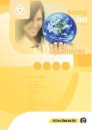 Optimieren Katalog 2008 - HitecSecurity