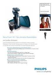 Leaflet RQ1275_16 Released Switzerland (German) High ... - Philips