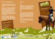 Reiten auf Islandpferden Reitcamp 2011 Anfahrt - Ebnit erleben