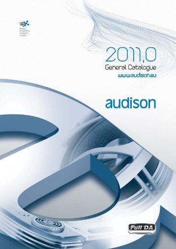 Audison Catalogue_2011_150dpi.pdf - Four Car Audio
