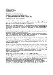 Allgemeine Teilnahmerichtlinien für Messen und ... - Tuning Expo