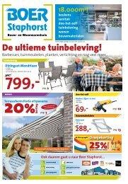 De ultieme tuinbeleving! - Boer Staphorst