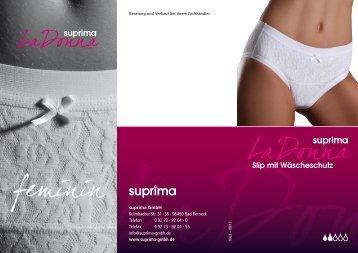 Slip mit Wäscheschutz - Suprima GmbH