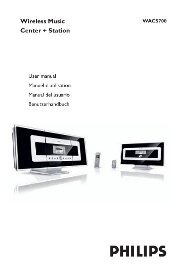 Philips WACS57/37 Wireless Music Station 64Bit