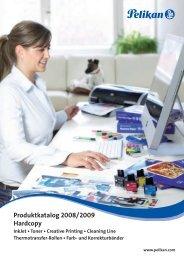 Produktkatalog 2008/2009 Hardcopy - Pelikan