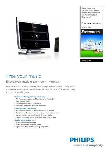 Philips WAC5/37 Wireless Music Station Treiber Herunterladen