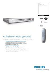 DVDR3380/31 Philips DVD-Player/Recorder