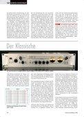 TEST MIKROFON-VORVERSTÄRKER - Thomann - Seite 7
