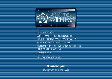 introduction wf100 wireless usb dongels lv2 full active - Viva Classica