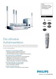 LX7500R/01 PHILIPS DVD-Recorder Home Entertainment mit i ...