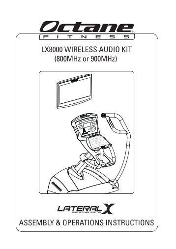 Life fitness treadmill 9500hr operation manual pdf