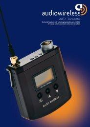 AWT-1 Transmitter - Audio Wireless