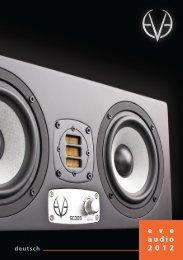 e v e audio 2012 - Synthax