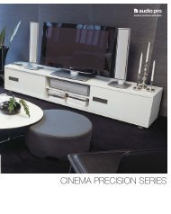 CINEMA PRECISION SERIES - Audio Pro