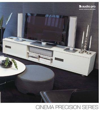 CINEMA PRECISION SERIES - Audio Pro