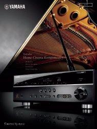 Home Cinema-Komponenten - Yamaha