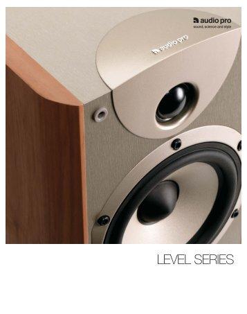 LEVEL SERIES - Audio Pro