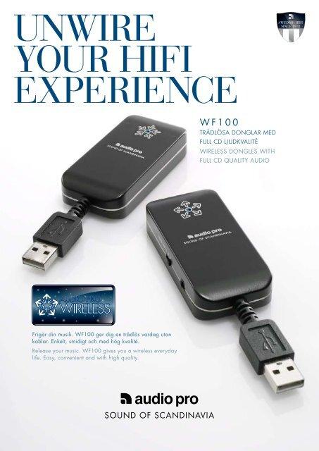 WF100 produktblad - Audio Pro