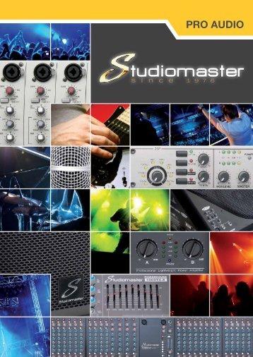 PRO AUDIO - Studiomaster