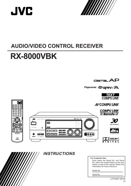 Pdf manual for jvc tv av-32d501.