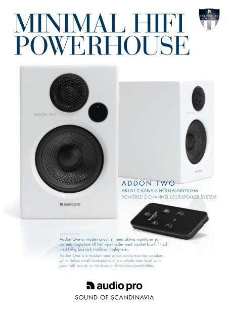 AddOn twO - Audio Pro