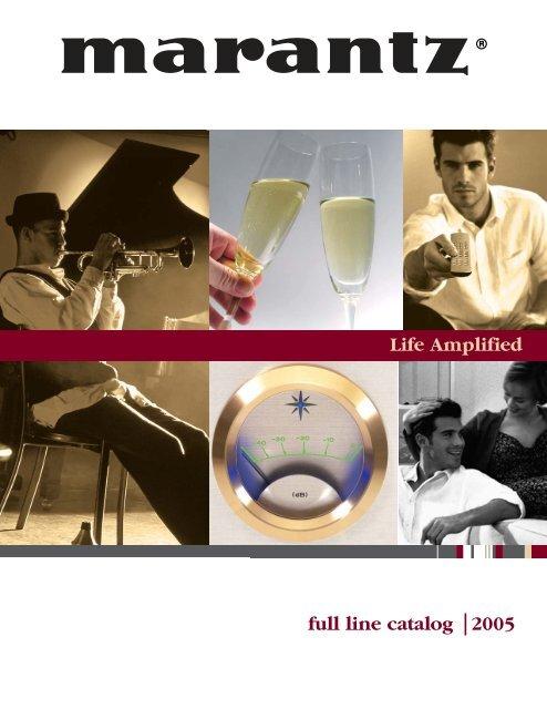 2005 Marantz Full Line Catalog