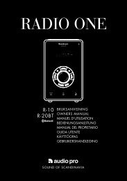 RADIO ONE - Audio Pro