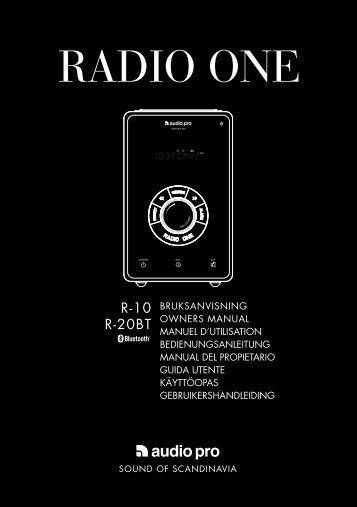 RADIO ONE - Audio Pro