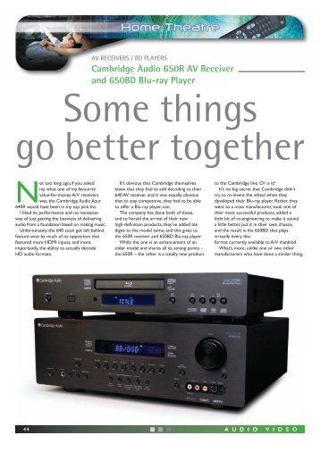 Cambridge audio Azur 340r manual