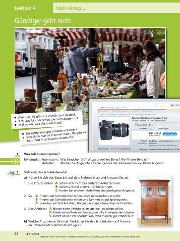 Alltag, Beruf & Co. 6 | Kursbuch + Arbeitsbuch mit Audio ... - Hueber