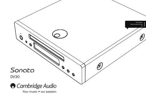 Cambridge Audio Sonata DV30