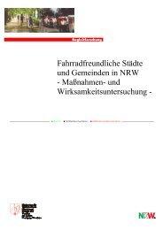 Maßnahmen - Arbeitsgemeinschaft fahrradfreundliche Städte ...