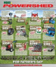 agricultural, industrial, trades & engineering equipment - NQAS