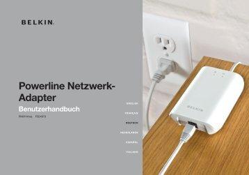 Powerline Netzwerk- Adapter - Belkin