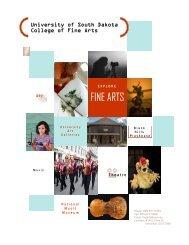 FINE ARTS - The University of South Dakota