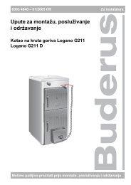 G 211 - Buderus
