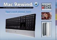 Mac Rewind - Issue 11/2009 (162) - MacTechNews.de - Mac Rewind
