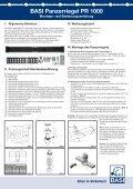 Produktdatenblatt - Basi GmbH - Page 2