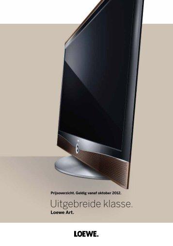 Loewe Art / Xelos. - Electro World Wim van den Broek