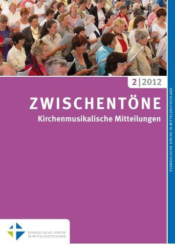 zwisc k - Kirchenmusik in der Evangelischen Kirche in ...