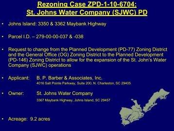 (SJWC) PD - Charleston County Government