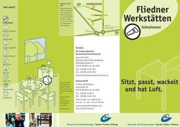 Fliedner Werkstätten - Theodor Fliedner Stiftung