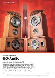 HQ-Audio - pleasurize music!