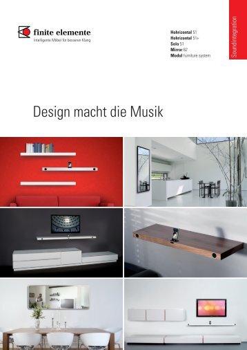 Design macht die Musik - Finite Elemente