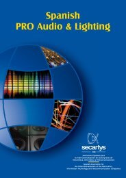 Spanish PRO Audio & Lighting - Secartys